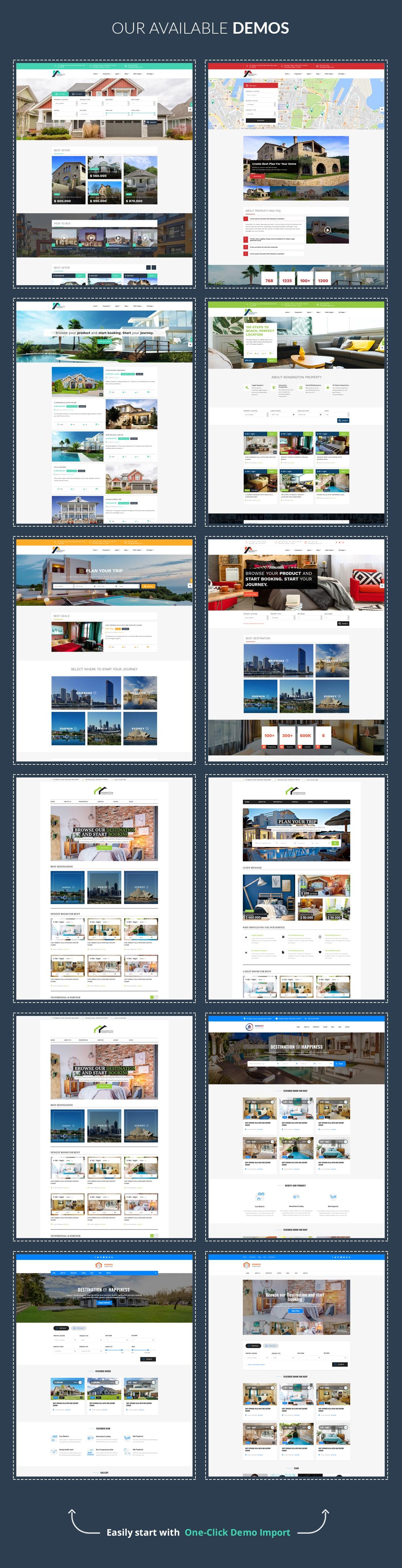 Kensington - Immobilien- und Immobilienmanagement WordPress Theme - 7