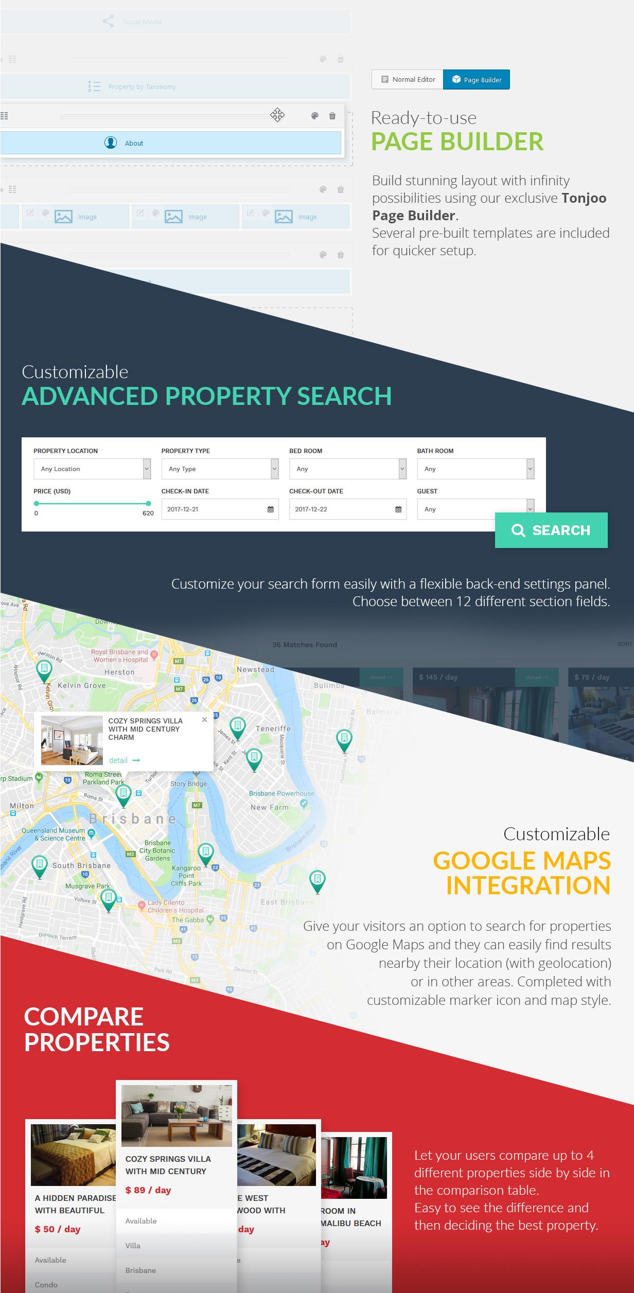 Kensington - Immobilien- und Immobilienmanagement WordPress Theme - 10