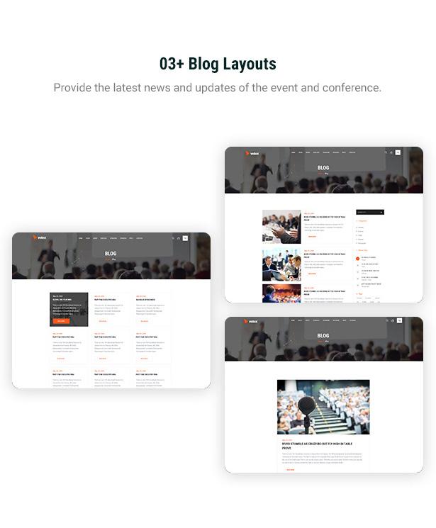 Vetex - Event & Konferenz WordPress Theme
