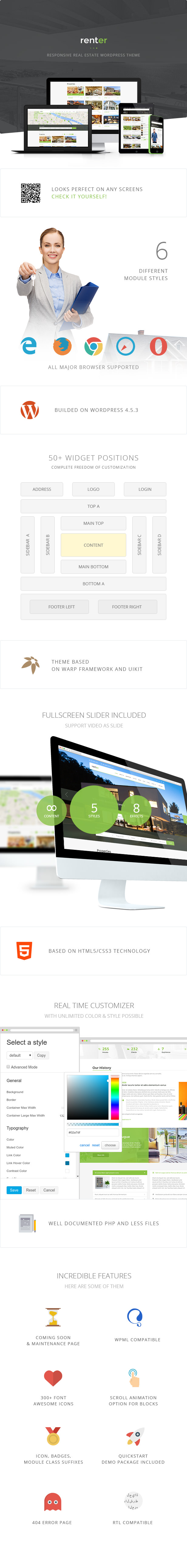 Mieter - Immobilien Miete / Verkauf Immobilienagentur & Makler Responsive WordPress Theme - 3