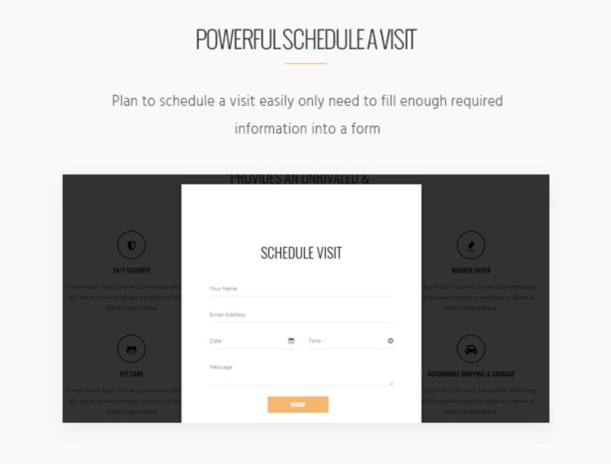 Skyview Complex Unlimited Color Skin - WordPress-Themes für Einzelobjekte und Immobilien