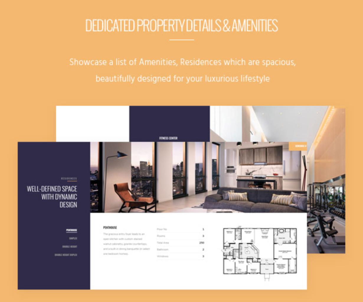 Skyview Complex Besuchen Sie Booking Rental Apartment & Real Estate WordPress-Themen