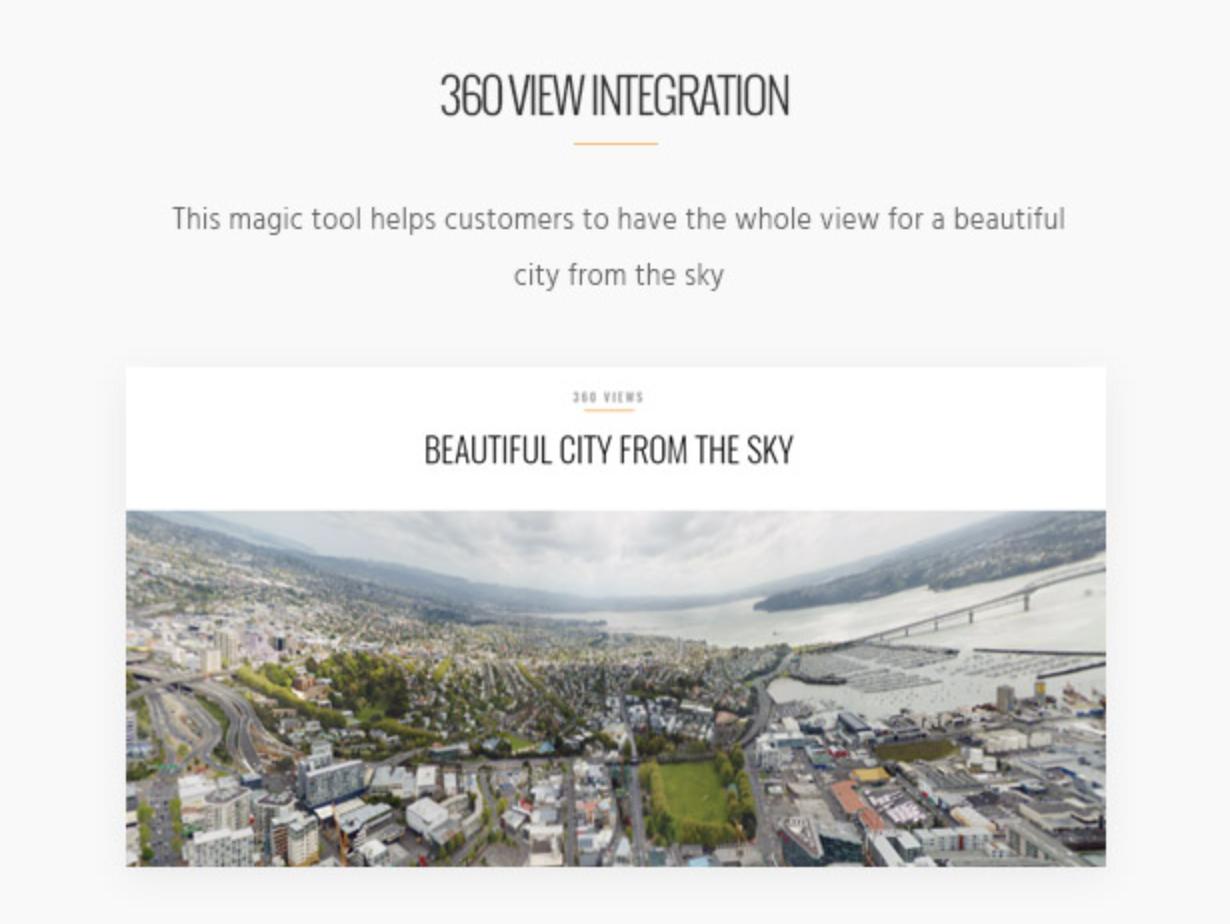 Skyview Complex Detail Property Einzelne Immobilie & Immobilien WordPress-Themes