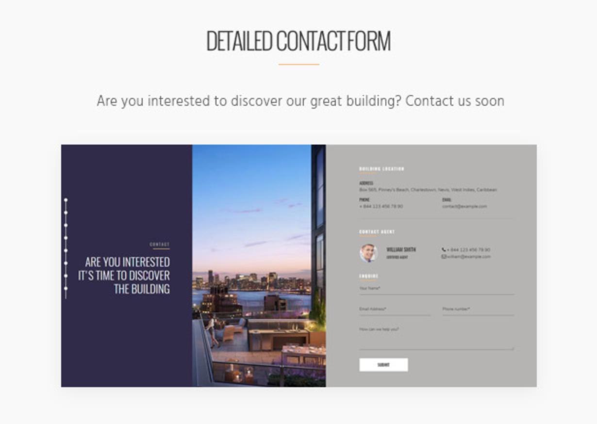 Skyview Complex Orte in der Nähe Einzelne Immobilien & Immobilien WordPress-Themes