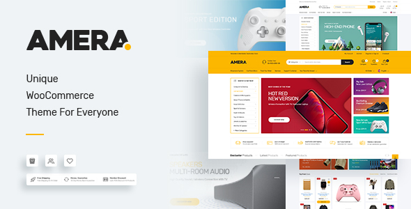 Wordpress Shop Template Amera - Digital WooCommerce WordPress Theme