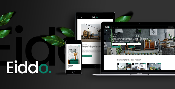 Wordpress Immobilien Template Eiddo - Real Estate and Realtor Theme