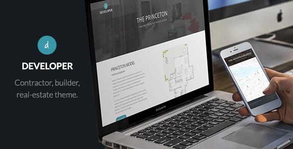 Wordpress Immobilien Template Developer - Builder, Contractor, Developer WP Theme