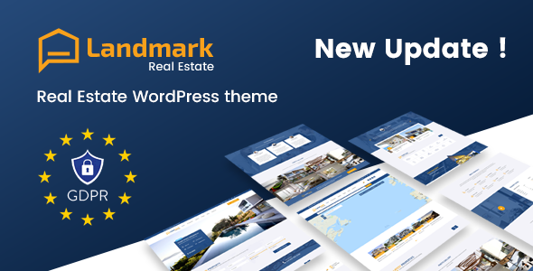 Wordpress Immobilien Template Landmark - Real Estate WordPress Theme