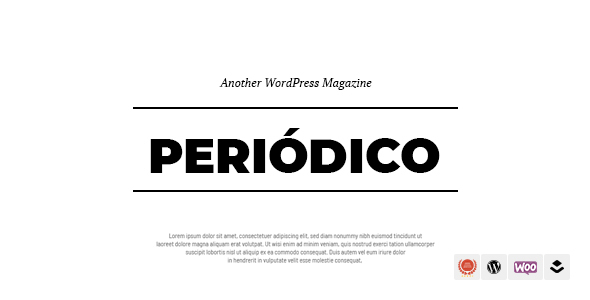 Wordpress Blog Template Periodico - A Responsive WordPress Blog Theme