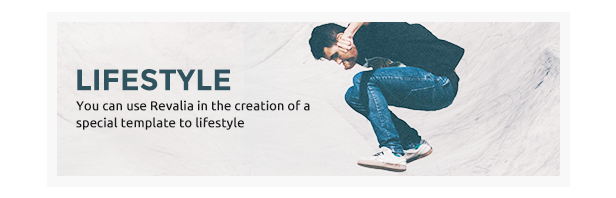 Revalia - WordPress-Blogging-Theme mit mehreren Konzepten