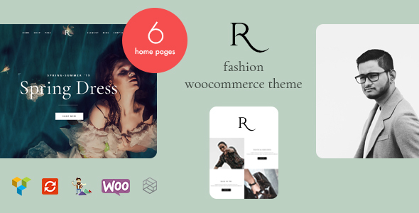Wordpress Shop Template Rion - Fashion WordPress Theme for WooCommerce
