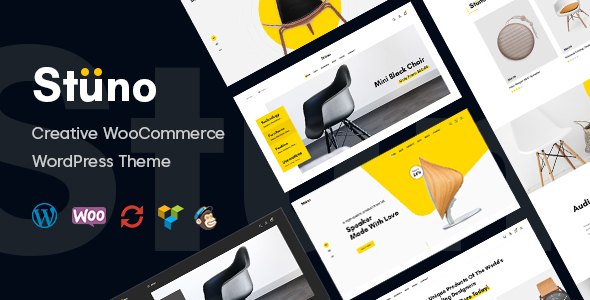 Wordpress Shop Template Stuno - WooCommerce Theme
