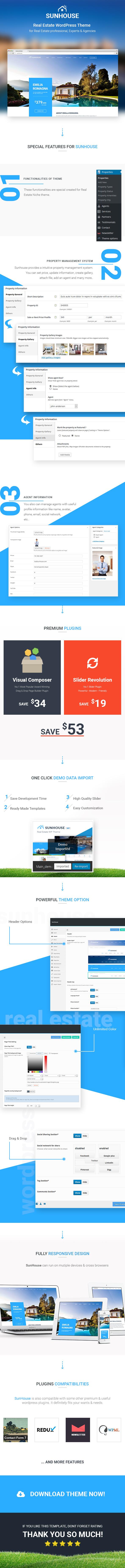 Immobilien WordPress | Sun House Real Estate WP - 5