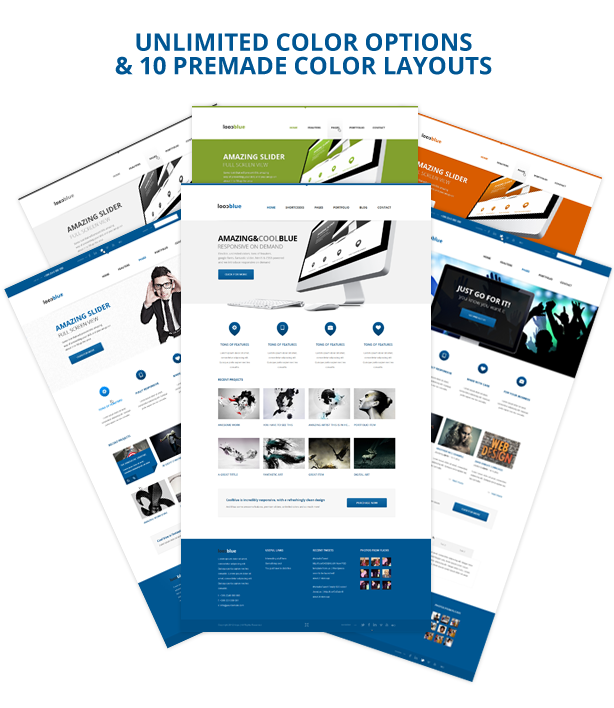 Coolblue - Responsives Mehrzweck-WordPress-Theme - 4