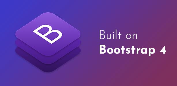 Endorfino WordPress Theme - Bootstrap 4