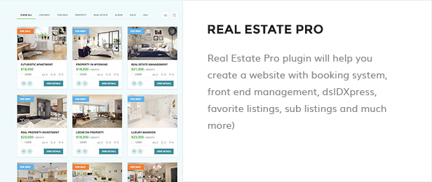 Space Home - Immobilien WordPress Theme - 8
