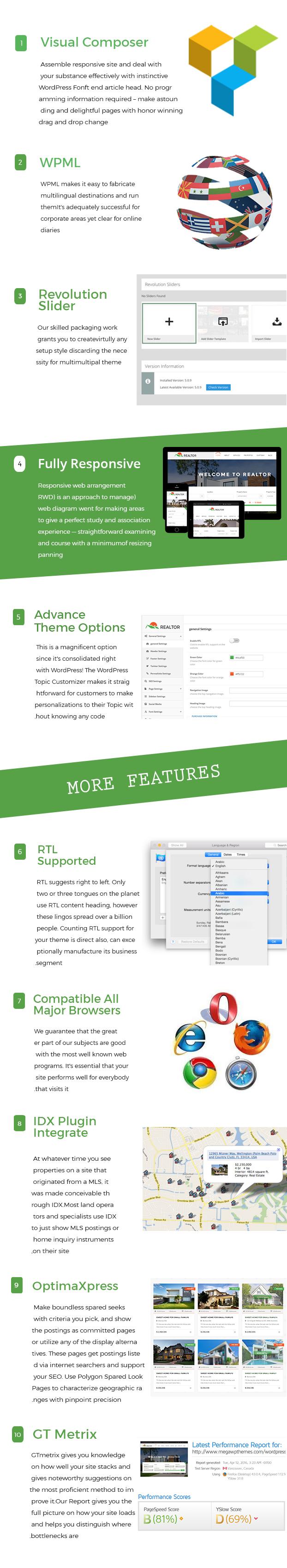 Makler - Responsive Immobilien WordPress Theme - 2