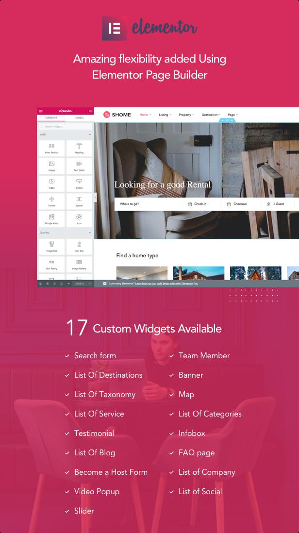 SHome | Marktplatz Immobilien WordPress Theme - 6