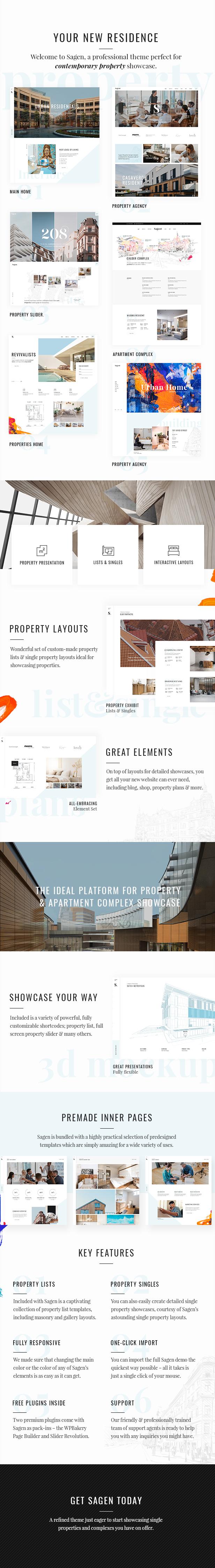 Sagen - Thema Einzel- und Apartmentkomplex - 1
