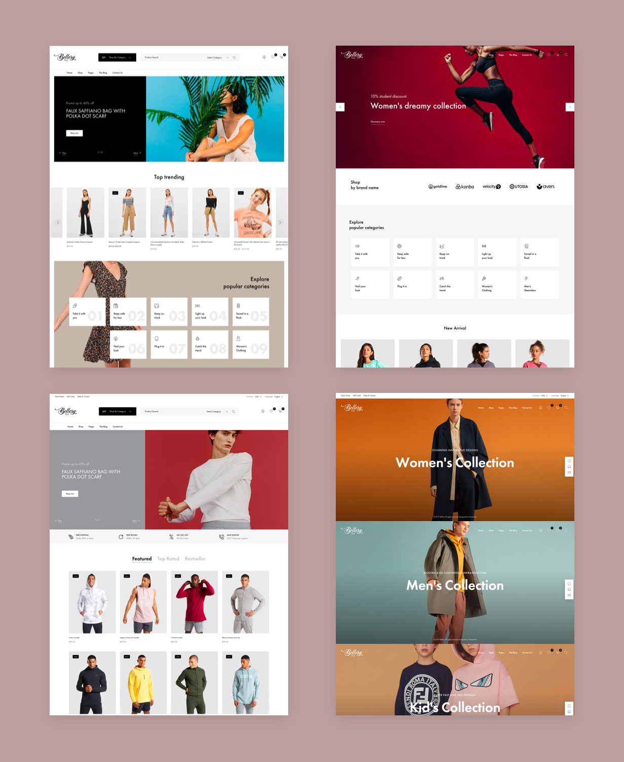 Bellery - Modern & Minimal WooCommerce Theme - 2