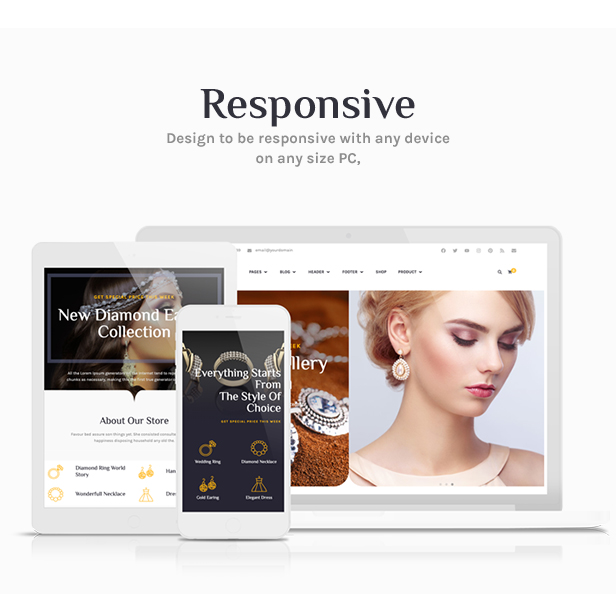 Tisara Jewelry WooCommerce Theme - 4