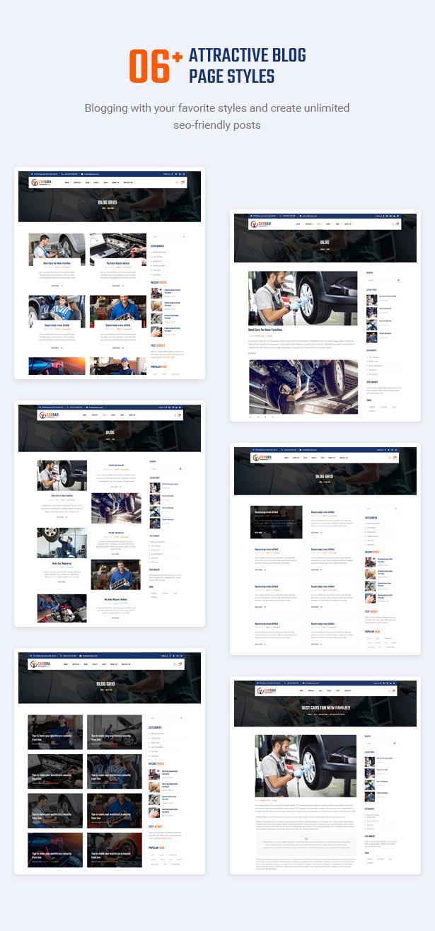 Locke das Publikum mit inspirierenden Blogs an - Carsao - Auto Service & Auto Mechanic WordPress Theme