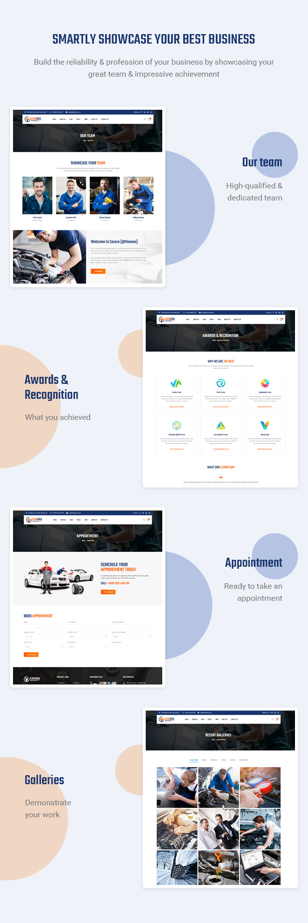 Effektiv Reputation aufbauen - Carsao - Auto Service & Auto Mechanic WordPress Theme