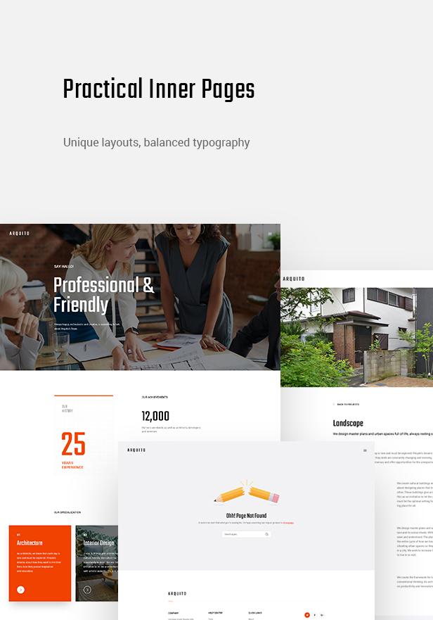 Arquito - 3D Architektur & Interieur WordPress Theme - 9