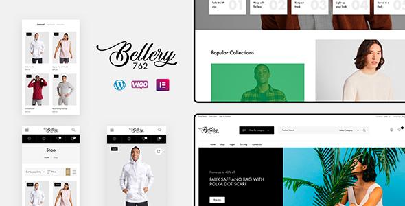 Wordpress Shop Template Bellery - Modern & Minimal WooCommerce Theme