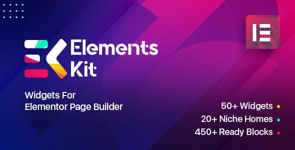 Wordpress Add-On Plugin ElementsKit – Widgets for elementor page builder