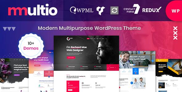 Wordpress Immobilien Template Multio - Multipurpose WordPress