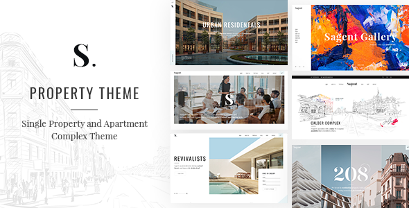 Wordpress Immobilien Template Sagen - Single Property and Apartment Complex Theme