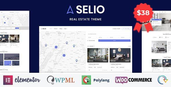 Wordpress Immobilien Template Selio - Real Estate Directory
