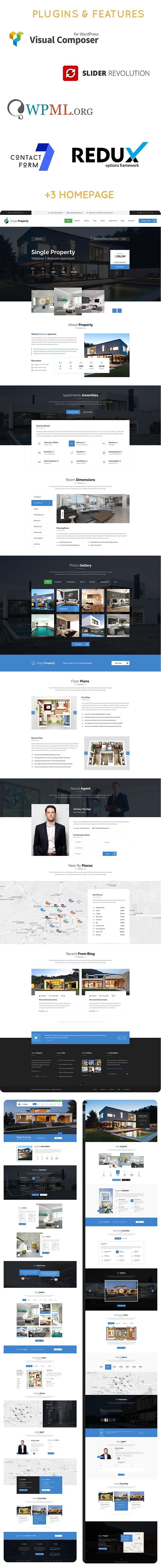 PatelProperty - Single Property Immobilien WordPress Theme - 6