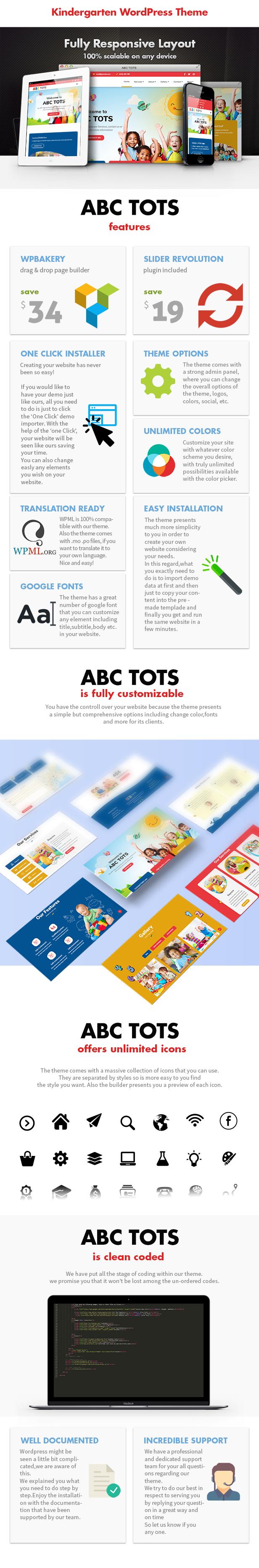 Abc Tots - Kindergarten WordPress Theme - 3