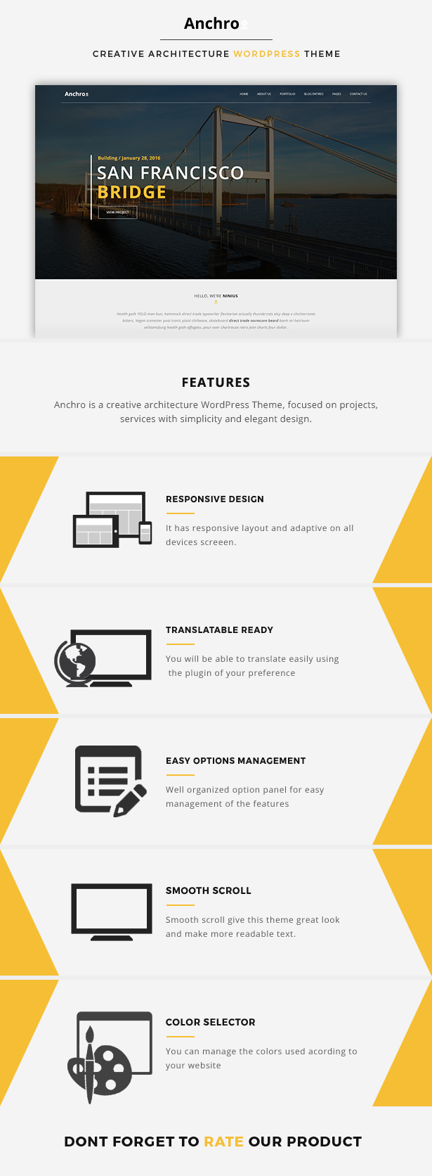 Bau WordPress Thema Innenarchitektur