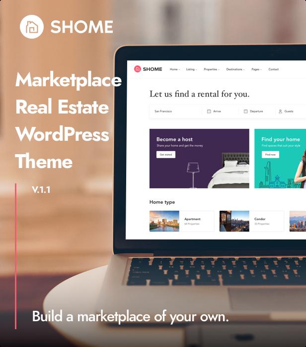 SHome | Marktplatz Immobilien WordPress Theme - 5