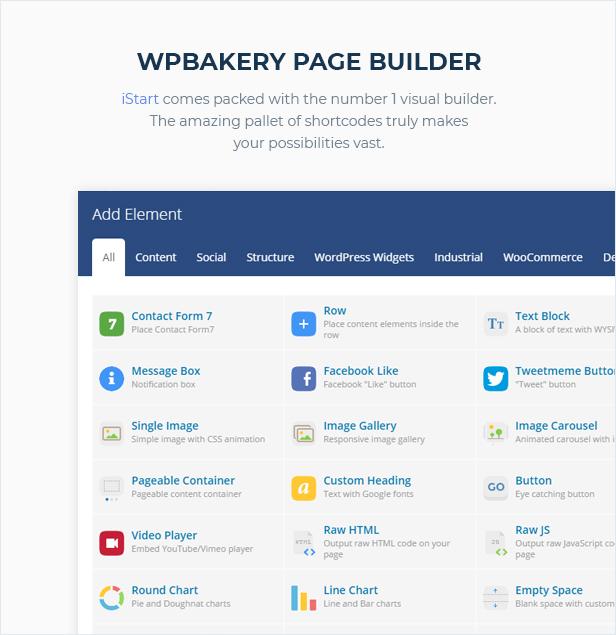 iStart - WordPress Startup Business Theme - 4
