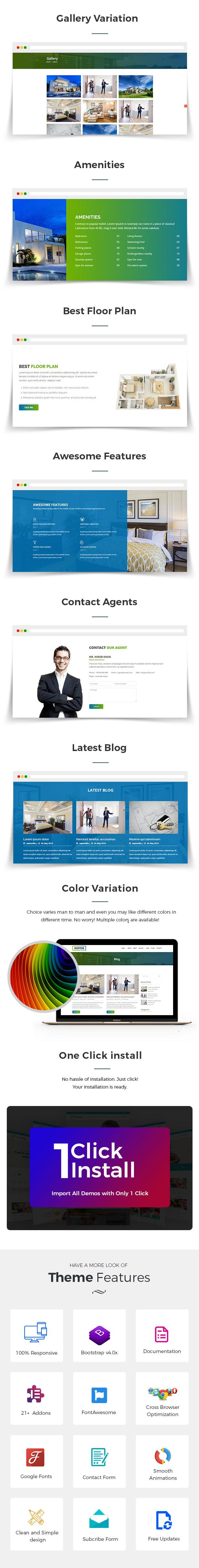Sopnovilla - Einzelne Eigenschaft WordPress Theme - 3