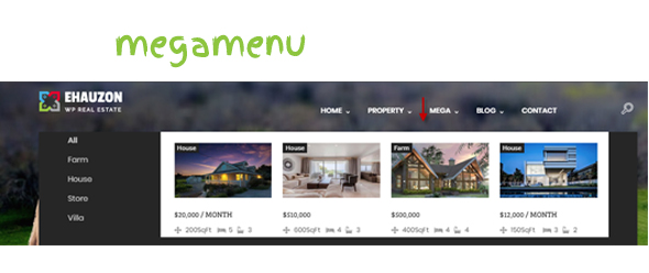 Ehauzon - Property Listing für WordPress Theme - 3
