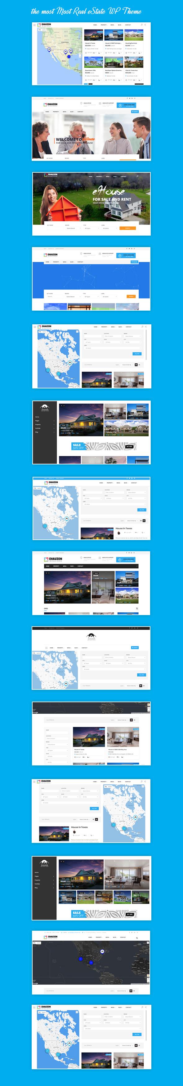 Ehauzon - Property Listing für WordPress Theme - 2