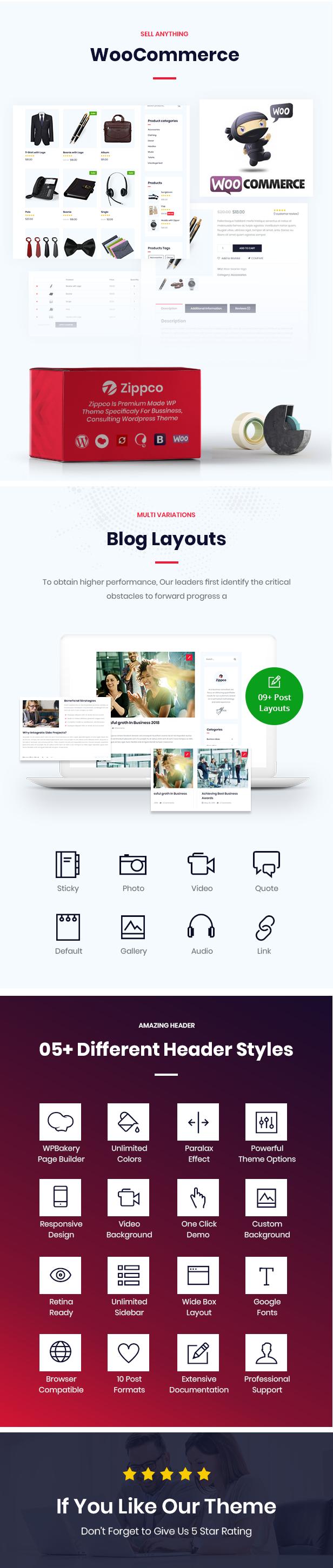Zippco WordPress Theme