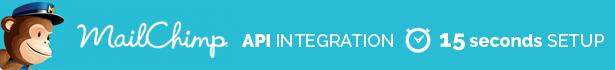 Nahtlose Integration mit Mailchimp