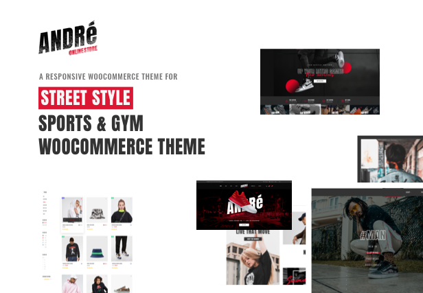 Andre - Street Style Sport & Fitness WooCommerce Theme - 4