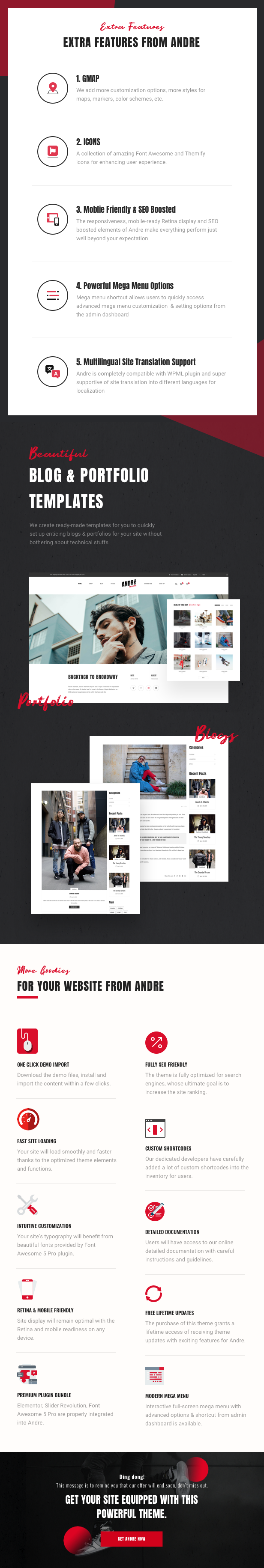 Andre - Street Style Sport & Fitness WooCommerce Theme - 16