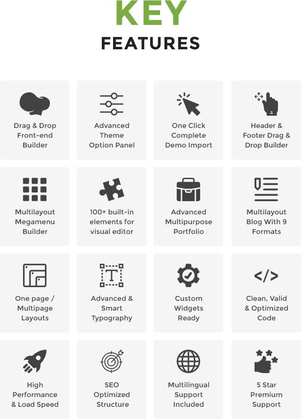 Samatex - Industrielles WordPress Theme + Woocommerce - 6