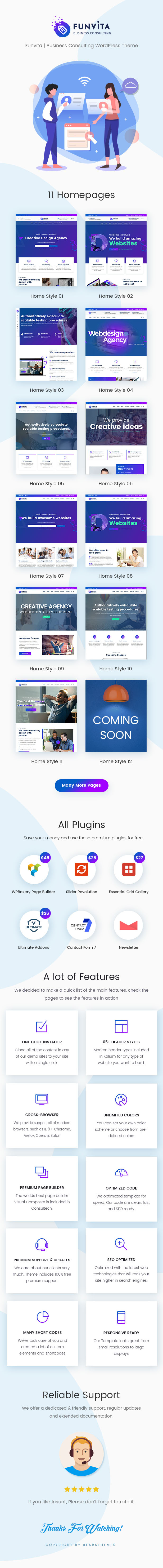 Funvita   Unternehmensberatung WordPress Theme - 2