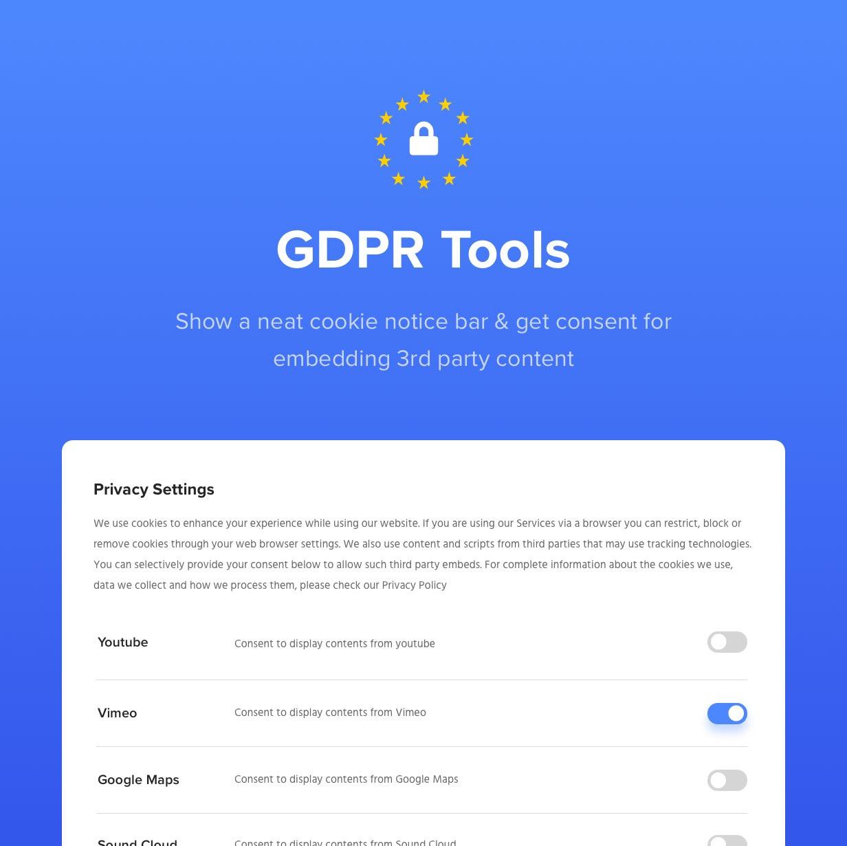 GDPR-Werkzeuge