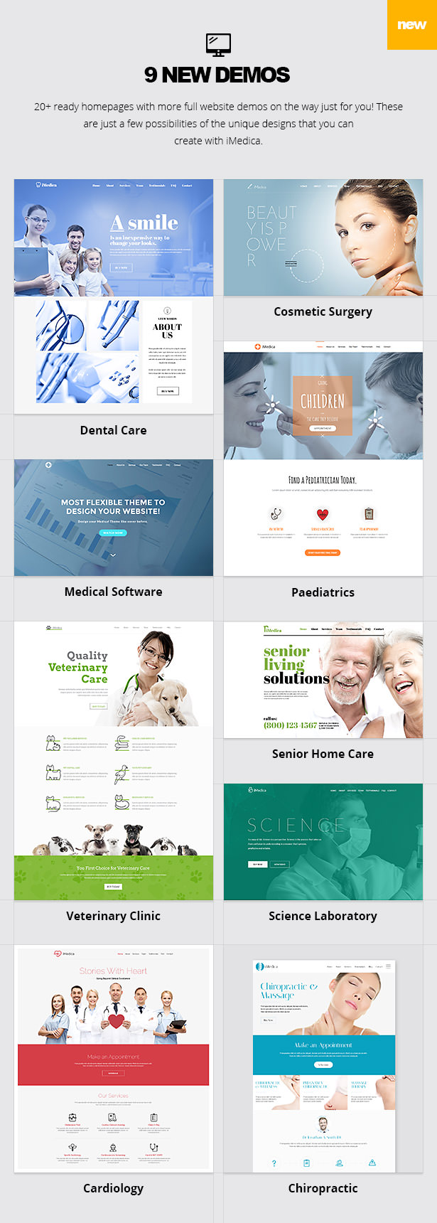 iMedica - Responsive Medical & Health WP-Thema - 13