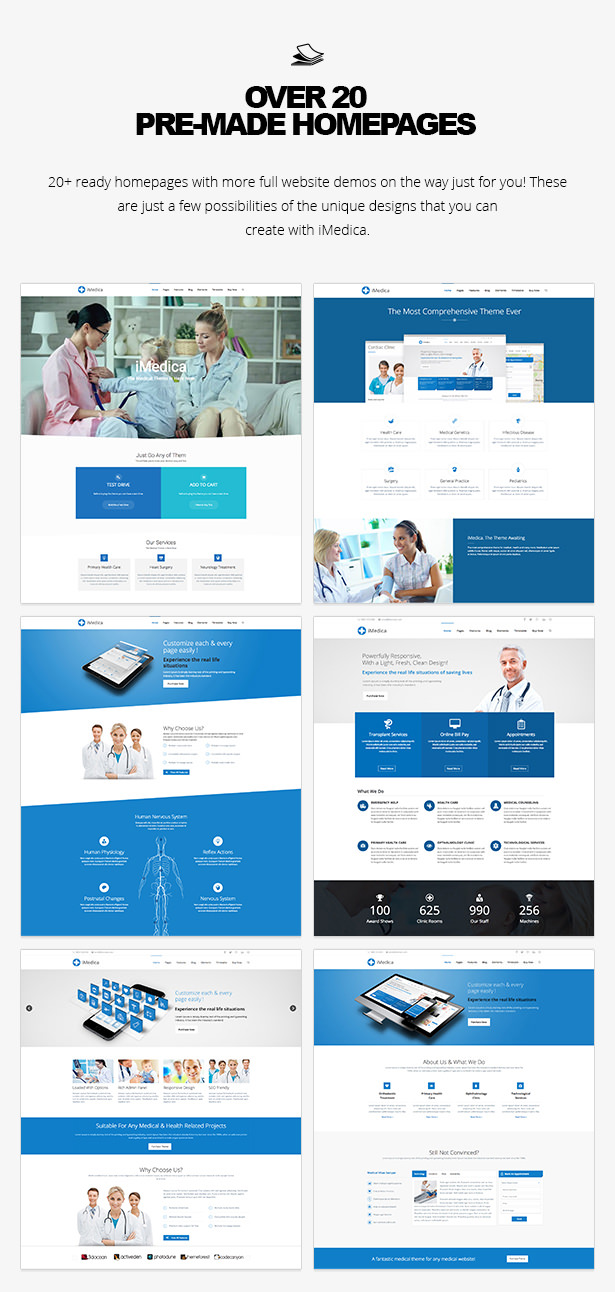 iMedica - Responsive Medical & Health WP-Thema - 15